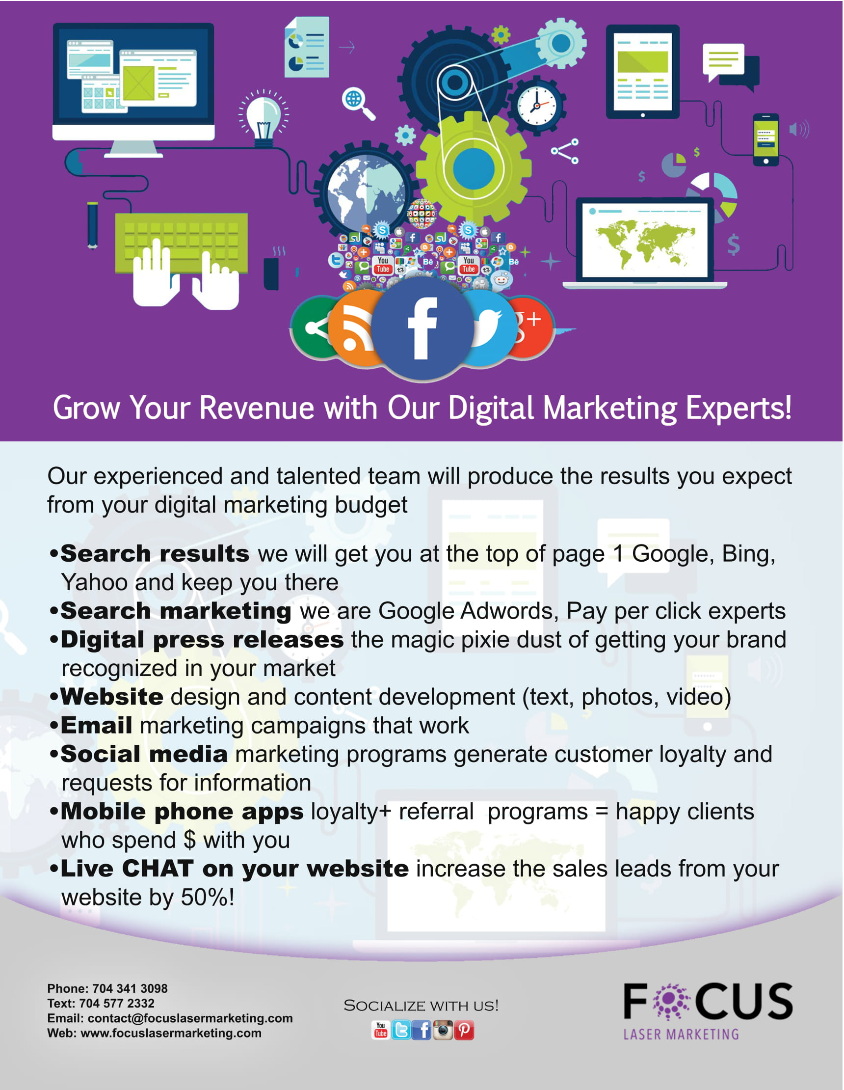Grow Your Revenue with Our Digital Marketing Experts